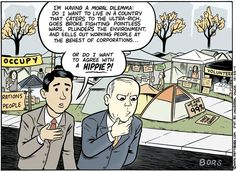 Occupy Comic Strips
