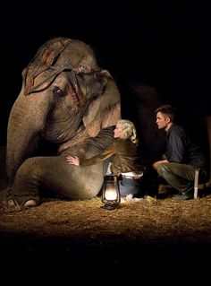 Reese Witherspoon & Robert Pattinson in Water for Elephants