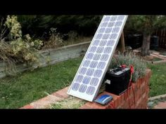Look at this video about Solar Panels we just added at http://greenenergy.solar-san-antonio.com/solar-energy/solar-panels/diy-solar-simple-cost-effective-battery-charging/