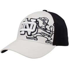 21.95 Top of the World Notre Dame Fighting Irish White-Navy Blue Audible  One-Fit Hat 3425003bf0e0
