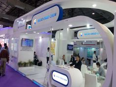 One of the nicest stands on the exhibition in India