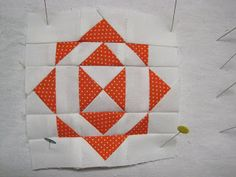 Hooked on Quilting: Dear Jane Block Two Finished