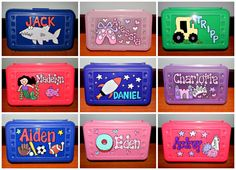 Kids Pencil Box, Personalized Pencil Boxes, Sunday School Projects, Fun Crafts, Paper Crafts, Birthday Party Favors, 4 Kids, Stress Relief, Small Gifts