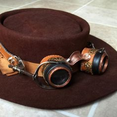 All Things Crafty: Steampunk on the Cheap - DIY goggles from stuff you have (very nice tutorial !)