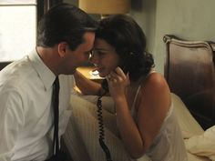 Megan and Don Draper ~ Mad Men