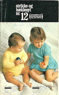 Vintage knitting & crochet book (danish)