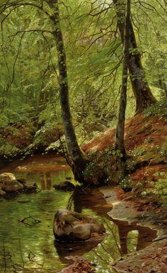 Peder Mørk Mønsted (Peter Mork Monsted) (10 December 1859 — 20 June 1941) was a Danish realist painter.