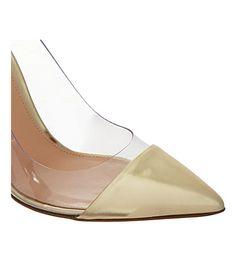 gianvito rossi calabria stilettos gold calabria stainless steel