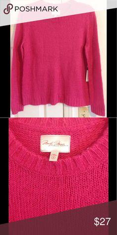 Marilyn Monroe NWT Sweater Small S Pink Cozy Marilyn Monroe NWT Sweater Small S Pink Cozy Sweaters Crew & Scoop Necks