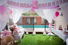 Pretty Pink Baby Shower www.millyjane.net