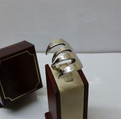 220 mm Besteckschmuck Silberbesteck Ring von BesteckschmuckBaron