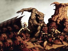Fantasy Wallpaper: Brom - Beast