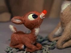 "This Is What Christmas Means To Me — ""Rudolph the Red-Nosed Reindeer, You'll go down in."