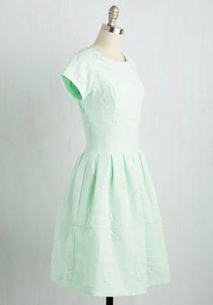 Pressed for Timeless Dress   Mod Retro Vintage Dresses   ModCloth.com
