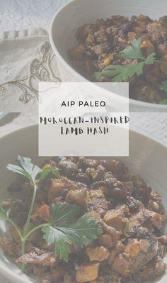 Moroccan-Inspired Lamb Hash | Enjoying this Journey...