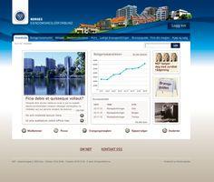 Nettside for Norges eiendomsmeglerforbund