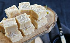 Toasted Coconut Fudge [Vegan] | One Green Planet