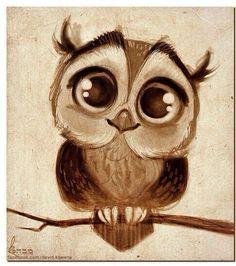 owl drawing - Pesquisa Google