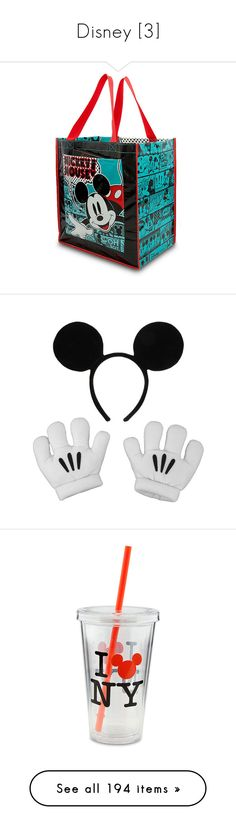 """""""Disney [3]"""" by gdavilla ❤ liked on Polyvore featuring bags, handbags, tote bags, tote purses, shopping tote, shopper purse, shopping bag, mickey mouse purse, accessories and hair accessories"""
