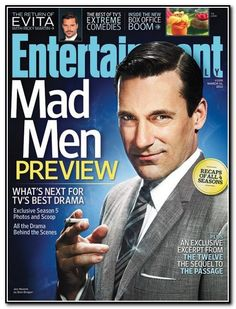 It's almost time for Mad Men--Season Five (about freakin' time!)