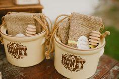 Honey Themed Wedding Inspiration - Rustic Wedding Chic
