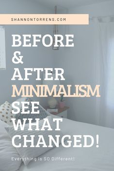 Minimalist Before and After - See what changed for our family! The Effective Pictures We Offer You A Minimal Living, Minimal Home, Simple Living, Minimalist Lifestyle, Minimalist Decor, Minimalist Kids, Minimalist Bedroom, Becoming Minimalist, Family Of 4