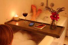 Make Yourself A Bathtub Caddy