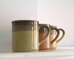 Vintage mug collection.