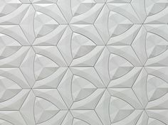 Download the catalogue and request prices of fiber cement 3d wall tile Cruck, design Levi Fignar, Concurrent Constellations collection to manufacturer Kaza Concrete