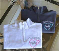 SONOGRAPHER DESIGN Welcome to Stitched In Style!!!! This monogram quarter zip is perfect for any nurse or doctor and is both comfy and classy!!