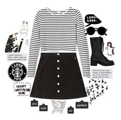 """""""// A world without you is not one I would want to live in //"""" by love-me-and-u ❤ liked on Polyvore featuring AG Adriano Goldschmied, Monki, Jil Sander Navy, Retrò and ESPRIT"""