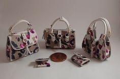 Miniaturas bolsos: Bolsos con estampado animal print fantasia