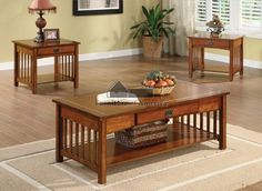 NEW  - Click image twice for more info - See a larger selection of coffee table sets at http://zcoffeetables.com/product-category/coffee-table-sets/ - home, home decor, home ideas, furniture, gift ideas,