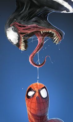 What The..? - MARVEL 01 VENOM by `DanLuVisiArt on deviantART