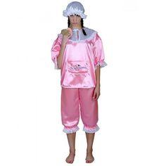 Baby Kostüm rosa Babykostüm Damenkostüm Fasching neu