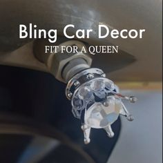 👑 CROWN Your Car QUEEN! 👑 Replace those old and missing tire caps with royal bling. These sparkling crystal crown tire valve stem caps will make your ride fit for a queen. 🛍 SHOP for more Crystal Car Accessories at www.BlingCarDecor.com.