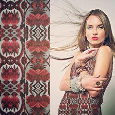 #kociara #printadress #spoonflower #textile #fabric design #print design #illustration #fashion | Flickr - Photo Sharing!