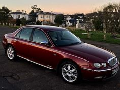 Rover 75 copperleaf red Modern Classic, Classic Cars, Great British, Vintage Cars, Planes, Trains, Automobile, Boat, Passion