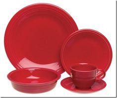 The most popular fiestaware pattern.