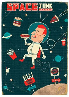 Paul Thurlby - Handsome Frank Illustration Agency