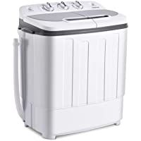 Frifer Twin Tub Mini Washing Machine 2 in 1 13.5LBS Portable Semi Automatic Washer Compact Washer & Spin Combo with Timer Control for Apartment Dorm RVs Camping (Washing Machine Twin Tub- 13.5lbs) #23 Frifer Twin Tub Mini Washing Machine 2 in 1 13.5LBS Portable Semi Automatic Washer Compact Washer & Spin Combo with Timer Control for Apartment Dorm RVs Camping (Washing Machine Twin Tub- 13.5lbs) 4.1 out of 5 stars 11 $124.99 - $139.99 Camping Washing Machine, Mini Washing Machine, Mini Washer And Dryer, Laundry Alternative, Compact Laundry, Drain Pump, Best Appliances, Tub, Cart