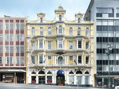 Dunedin Wains Hotel Dunedin New Zealand, Pacific Ocean and Australia Ideally located in the prime touristic area of North Dunedin, Wains Hotel Dunedin promises a relaxing and wonderful visit. Both business travelers and tourists can enjoy the hotel's facilities and services. Free Wi-Fi in all rooms, 24-hour security, daily housekeeping, 24-hour front desk, 24-hour room service are on the list of things guests can enjoy. Each guestroom is elegantly furnished and equipped with h...