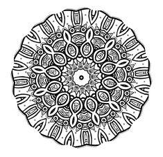 mandalas to print and color for adults | Mandala Mondays - Mandala Coloring 3