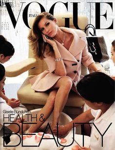 Vogue Italia June 2013 : Gisele Bundchen By Steven Meisel