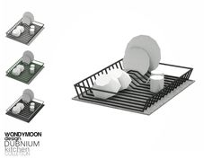 wondymoon's Dubnium Dish Drainer Sims 4 Mods, Sims 4 Game Mods, Sims 4 Tsr, Sims Cc, Deco Gamer, Sims 4 Kitchen, The Sims 4 Packs, Muebles Sims 4 Cc, Sims 4 Bedroom
