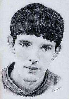 Merlin+sketch | bbc merlin merlin fanart colin morgan portrait deviantart venikova