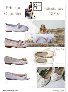 6 zapatos de niña para una Comunión muy especial   COMUNIÓN TRENDY :: Mil ideas para organizar una Primera Comunión :: Vestidos de comunión, Recordatorios, Trajes de Comunión