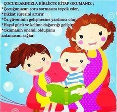 Çocuğunuzla kitap okumanızın faydaları...