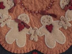 Primitive Gingerbread PDF EPATTERN by pennylaneprims on Etsy, $4.50