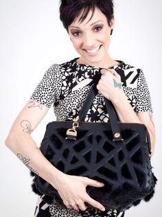 Handbag by Brazilian designer Rogério Lima.